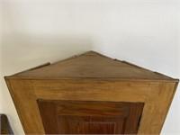 Primitive Hanging corner cupboard