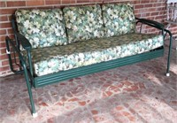 """Vintage Glider w/Cushions 74"""" and 3 Vintage"""