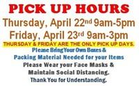 Wed. 4/21 @10am - Clark County Public Auction - 600 Lots