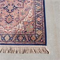 """KARASTAN 100% Wool Heriz Area Rug 4'3"""" x 6'"""
