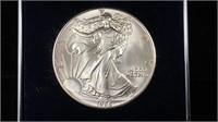 1986 Silver Eagle 1oz w/ case