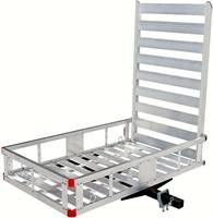 MAXXHAUL 80779 Aluminum Hitch Mount Cargo Carrier