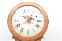Budweiser Clydesdale 1983 Heirloom Clock 50TH