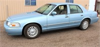 Lot 5004 - 2006 Mercury Grand Marquis LS.  Absentee bidding available on this item. Click catalog tab for more information & pictures.