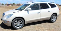 Lot 5006 - 2010 Buick Enclave CXL.  Absentee bidding available on this item. Click catalog tab for more information & pictures.