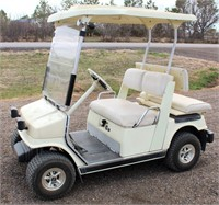 Lot 5007  Yamaha Golf Cart.  Absentee bidding available on this item. Click catalog tab for more information & pictures.