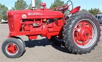 Lot 5011 1953 McCormick Farmall Super M Tractor, Absentee bidding available on this item. Click catalog tab for more information & pictures.