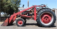 Lot 5016 - MM Mdl U (project tractor).  Absentee bidding available on this item. Click catalog tab for more information & pictures.
