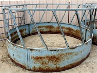 Lot 5028 - Round Bale Feeder #1.  Absentee bidding available on this item. Click catalog tab for more information & pictures.