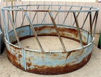 Lot 5029 - Round Bale Feeder #2.  Absentee bidding available on this item. Click catalog tab for more information & pictures.