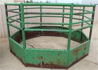 Lot 5030 - HD 8-Sided Bale Feeder.  Absentee bidding available on this item. Click catalog tab for more information & pictures.