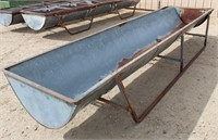 Lot 5033 - Long Cattle Feeder #3.  Absentee bidding available on this item. Click catalog tab for more information & pictures.