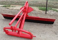 Lot 5041 - Dearborn Danuser Rear Blade, 6'.  Absentee bidding available on this item. Click catalog tab for more information & pictures.