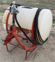 Lot 5042 - Sprayer Tank.  Absentee bidding available on this item. Click catalog tab for more information & pictures.
