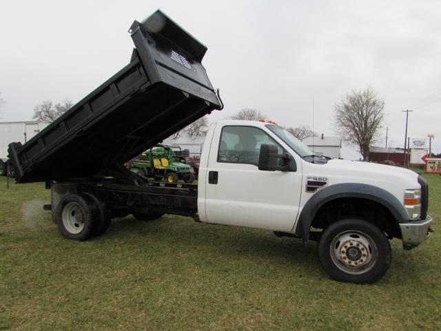 2008 Ford F550 Dump Truck 4X4