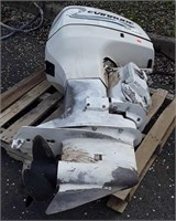 Outboard Motor, Evinrude 225. Running condition