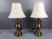 Brass Color Table Lamps