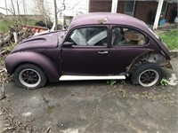 ONLINE ONLY OVID NY VW BEETLE AND BULK LOT