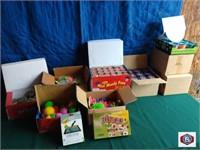 051221 DeWalt batteries, power tools, gages, toys, exercise