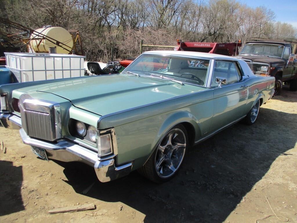 1969 LINCOLN CONTINENTAL III, RUNS & DRIVES, 460