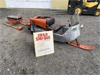 Collector Toy Tractor, Vintage Snowmobiles, Machinery