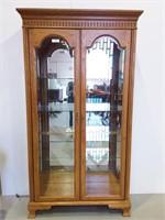 Jasper Cabinet Co. Lighted Curio Cabinet