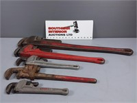 Ridgid & Lenox Pipe Wrenches