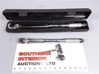 """1/2"""" & 1/4"""" Drive Torque Wrenches (2)"""