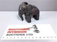 Ceramic Elephant Piggy Bank