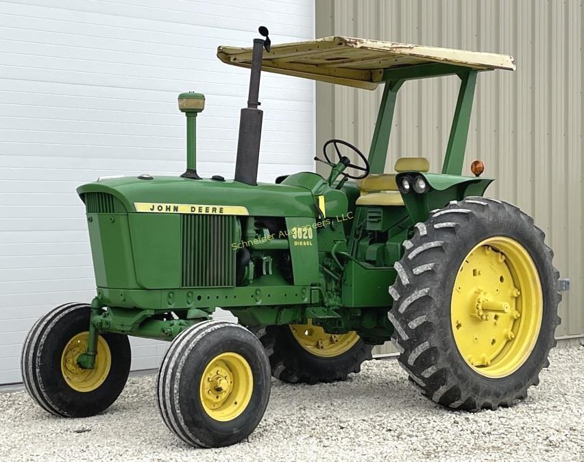 John Deere 3020 diesel tractor