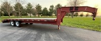 Lot 5001  1998 Road Boss GN Trlr, Absentee bidding available on this item. Click catalog tab for more information & pictures.