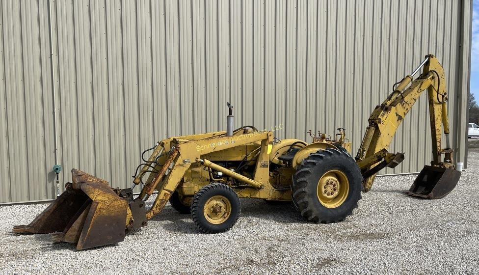 Ford 4500 backhoe
