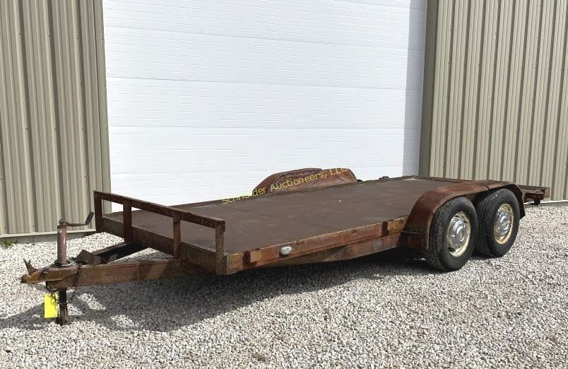 """6'5""""x16' flatbed trailer, no title"""