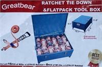 24 Unused Uppro ratchet straps