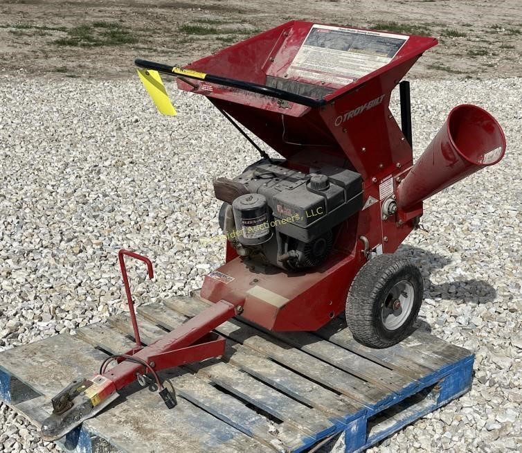 Troy-Bilt 10 hp chipper/shredder
