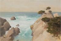 Lockwood de Forest  (1850-1932) California coastal landscape