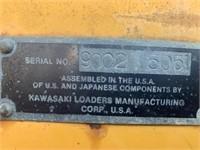 Kawasaki Wheel Loader (Not Running)