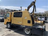2005 GMC Truck-Kat w/Tiger Boom Mower