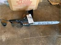 Remington 3hp Electric Chainsaw