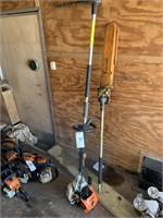 Stihl Pole Trimmer & Chainsaw Attachment