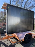 Adco Solar Powered Sign Board