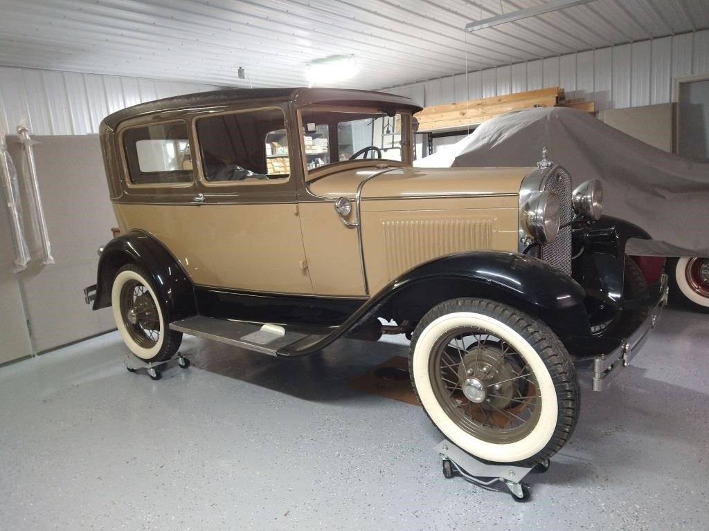 1931 Model A Ford Sedan, Runs & Drives