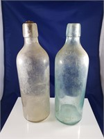 Medicine, Milk and Bitters Bottles - Pottery - Fossils