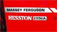 Massey Ferg/ Hesston 2956A 5' Baler