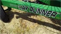 Ogden Hybrid Hay Runner 12 Wheel Rake