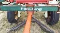 35' Flex-King sweep plow, 7 blade - 5 foot