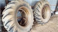 Set of 18-4-34 Duels for John Deere Tractor