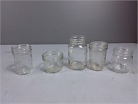 Assorted Canning Jars