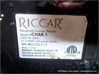 RICCAR CHARISMA SMALL CANNISTER VACUUM