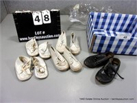 BOX: ASSORTED BABY SHOES